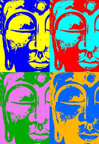 Buddha like Warhol