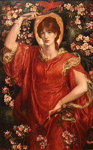 Dante Gabriel Rossetti. A Vision of Fiammetta van
