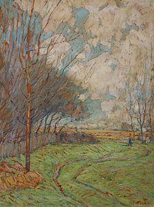 William Forsyth-Landschaftspfad zu den Feldern