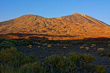 Tenerife - Vulkanen in de avondzon van Gisela Scheffbuch