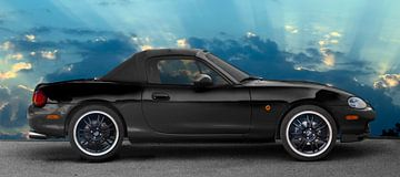 Mazda MX-5 Zuiver zwart van aRi F. Huber