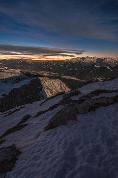 Winternacht geht zu Ende von Thomas Weber