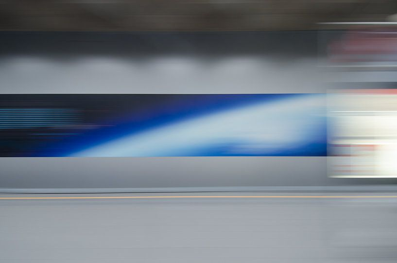 Abstracte fotografie 2 van Mark Bolijn