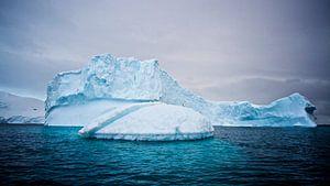 de magie van het ijs op Antarctica
