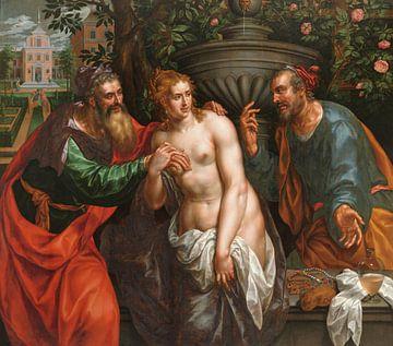 Susanne und die beiden Alten, Hendrik de Clerck