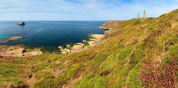 Cap Frehel Bretagne in de zomer van Dennis van de Water