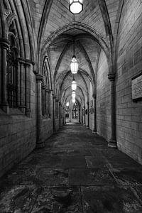 Church hallway in London