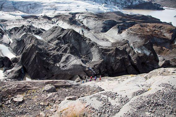 Gletsjer hiking op Vatnajokull van Menno Schaefer