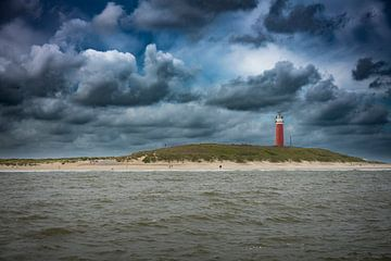 De vuurtoren van Texel van Jan Peter Mulder