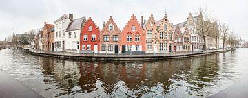 Huizen aan het water van Marcel Derweduwen