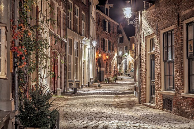 Deventer at Night, Bergkwartier 2014 van Jan Haitsma