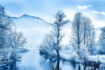 LP 71337584 Uitzicht op Loisach in de winter van BeeldigBeeld Food & Lifestyle