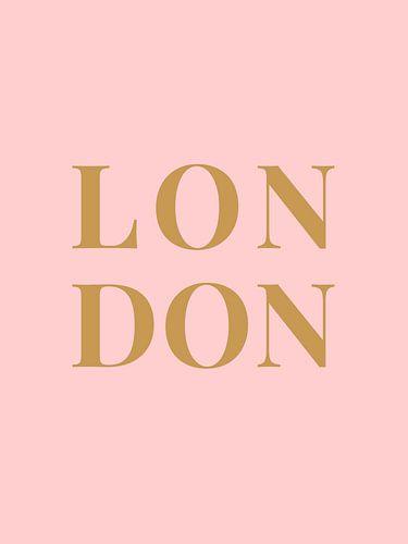LONDON (in roze goud)