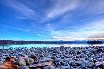 Lac Starnberg - Vue de l'île des Roses sur Roith Fotografie