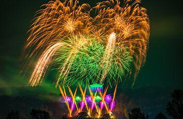 Walhalla Feuerwerk von Rainer Pickhard