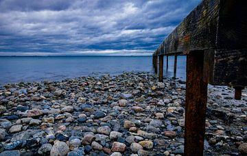 Blick auf die Wolken über der Ostsee von Marc-Sven Kirsch