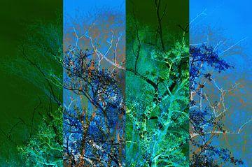 Vierluik bomen van CreaBrig Fotografie