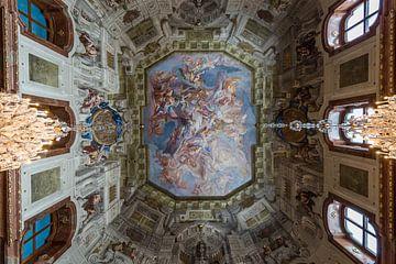 Fresco in museum Belvedere