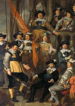 Officieren en andere schutters Amsterdam, Govert Flinck - 1645 van Het Archief