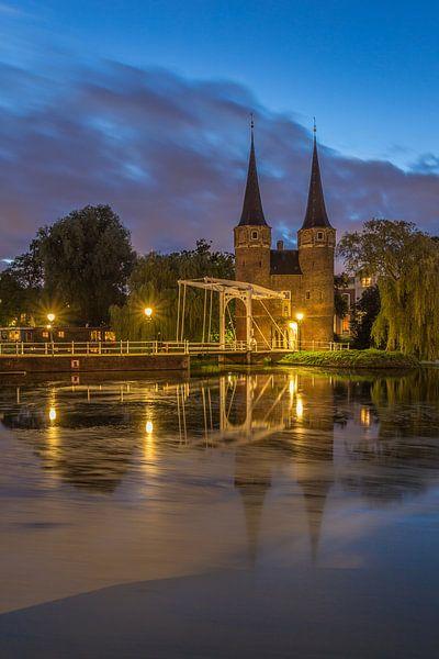 Oostpoort Delft in the Blue Hour - 2