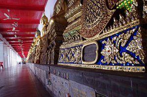 Kloostergalerij Wat Benchamabophit - Bangkok van