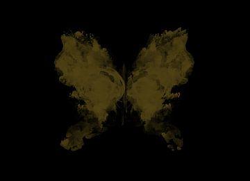 Dunkle Schmetterlingskunst von DaniellesArt
