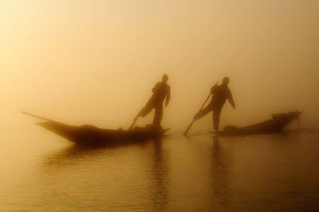 Insle Lake Fishermen
