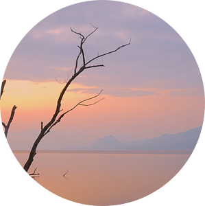 Mistic sunrise van peter meier