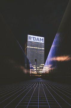 Rotterdam Architektur Urban KPN leichtes Gebäude von Yordy Baglieto