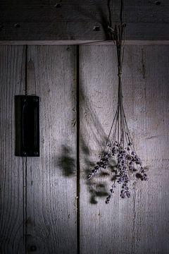 stilleven met lavendel van Ellen Gerrits