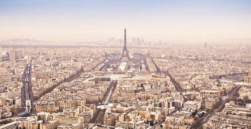 Winterpanorama Paris (Farbe) von Arja Schrijver Fotografie