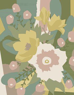 Gebrandschilderd glas neutraal, Megan Gallagher van Wild Apple