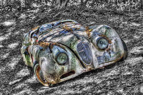 Vintage Jaguar van