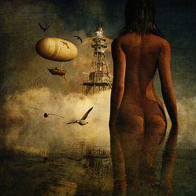 Rêve –  Le rêve de Julia sur le phare et ses habitants sur Jan Keteleer