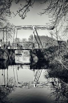 Ophaalbrug bij Park Oog in Al te Utrecht.  (Utrecht2019@40mm nr 21) van De Utrechtse Grachten