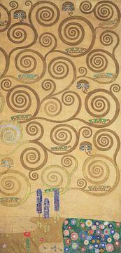 Werktekening voor de Stoclet-fries, deel 7, Gustav Klimt