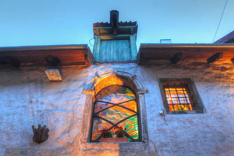 St. Catherine's Passage, Benedenstad, Oude Stad , Tallinn, Estland, Europa van Torsten Krüger