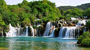 Krka-watervallen - Kroatië van