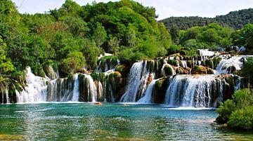 Krka  Wasserfälle - Kroatien von