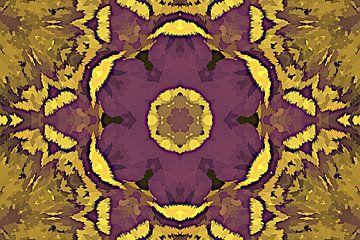 Paarse bloem van ART & DESIGN by Debbie-Lynn
