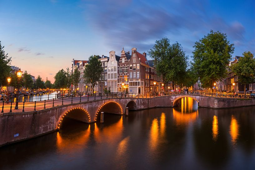 Amsterdam avond stemming van Pieter Struiksma
