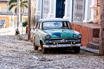 vintage auto in Cuba sur