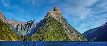 Milford Sound, Nieuw Zeeland van Rietje Bulthuis