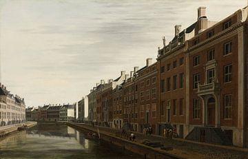Kurve in der Herengracht Amsterdam - Gerrit Adriaensz Berckheyde