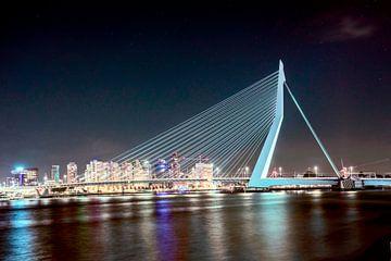 Erasmusbrug Rotterdam van Angelique Niehorster