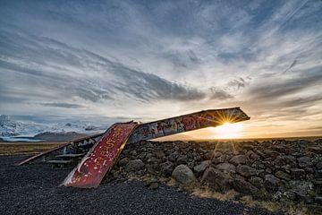 Monument, IJsland von Tilly Meijer