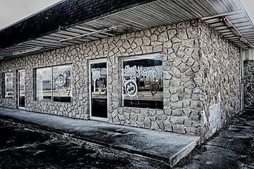 Verlaten winkel van