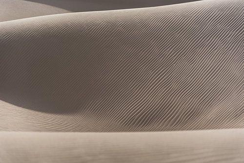 Abstracte foto van een zandduin in de woestijn | Iran