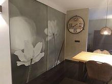 Klantfoto: flower power van Annemieke van der Wiel, als naadloos behang