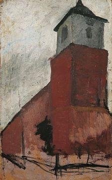Kirche in Worpswede,1900 von Atelier Liesjes
